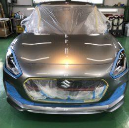 飯能市N様弊社販売車🚗新車ZD53S SWIFT HYBRID RS G'ZOXリアルガラスコート施工作業‼️