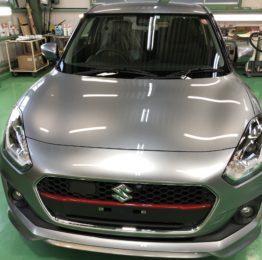 飯能市N様弊社販売車🚗新車ZD53S SWIFT HYBRID RS 4WD G'ZOXリアルガラスコート施工作業‼️