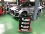 飯能市N様弊社販売車🚗新車ZD53Sswift HYBRID RS 4WD  BLIZZAK VRX2 175/65R15スタッドレスタイヤ交換作業‼️