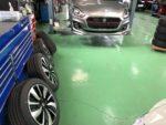 飯能市N様弊社販売車🚗新車ZD53SSWIFT HYBRID RS G'ZOXホイールコーティング施工作業‼️