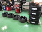 青梅市M様弊社販売車🚗BMWF87M2クーペ タイヤ交換 MICHELIN Pilot Super Sport にて新品4本交換‼️
