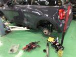 F56 MINI COOPER S サスペンション交換作業‼️