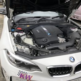 KW デモカー  clubsport 2WAY装着車 BMW F87M2クーペ 試乗‼️
