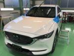 羽村市S様新車KG2PCX-8G'ZOXハイパービューウィンドウ撥水コーティング施工作業‼️