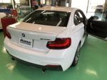 BMWF22M235クーペシルフィード断熱フィルム施工作業❗️長野県Y様弊社販売車🚗BMWF22M235クーペ