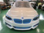 BMWF22M235iクーペHi-MOHSCOAT THE GLOWハイエンドガラスコーティング施工作業‼️長野県Y様弊社販売車🚗BMWF22M235iクーペ