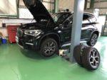 BMWF48X1Xdrive18dXLineスタッドレスタイヤ→夏タイヤ履き替え作業‼️青梅市Y様BMWF48X1Xdrive18dXLine
