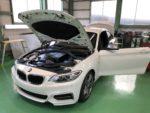 BMWF22M235iクーペYUPITERU指定店モデルレーダー探知機 ドライブレコーダー取付作業‼️長野県Y様弊社販売車🚗BMWF22M235iクーペ