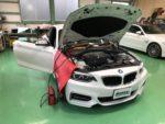 BMWF22M235iクーペ デイライトコーディング 他コーディング作業‼️長野県Y様弊社販売車🚗BMWF22M235iクーペ