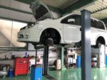 NISSANB30ラフェスタエンジンオイル交換スタッドレスタイヤ→夏タイヤ履き替え作業‼️東村山市K様B30ラフェスタ
