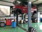 SUZUKIMR41SHUSTLERエンジンオイル交換 スタッドレスタイヤ→夏タイヤ履き替え作業‼️羽村市U様MR41SHUSTLER