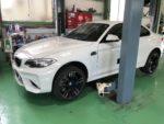BMWF87M2クーペ タイヤ交換MICHELIN Pilotsupersport 265/35R19‼️青梅市M様BMWF87M2クーペ