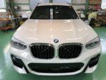BMWG01X3Xdrive20dMsport Hi-MOHS COAT THE NEOハイエンドガラスコーティング施工完了‼️デモカーBMWG01X3Xdrive20dMsportアルピンIII