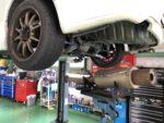 NISSANS15シルビアオーテックバージョン車検整備作業❗️FGKレガリスRマフラー取付❗️昭島市I様S15シルビアオーテックバージョン