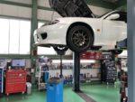 NISSANS15シルビアオーテックバージョン車検整備作業エンジンオイル交換❗️昭島市I様S15シルビアオーテックバージョン