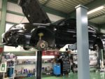 SUBARUBEEレガシィB4車検整備作業❗️ラジエーターホース交換、クーラント交換❗️