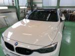 BMWF82M4 G'ZOXハイパービューウィンドウ撥水コーティング施工作業❗️