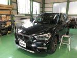 BMWF48X1 G'ZOXハイパービューウィンドウ撥水コーティング施工作業❗️青梅市Y様F 48X1