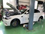 BMWF87M2法定12ヶ月点検整備作業❗️青梅市M様BMWF87M2