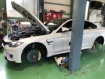 BMW F82 M4 6MT G'ZOXホイールコーティング施工しました❗️