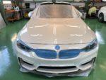 BMWF82M4 6MT Hi-MOHS COAT THE NEO ハイエンド超撥水ガラスコーティング施工作業❗️