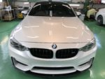BMWF82M4 6MT Hi-MOHS COAT THE NEOハイエンド超膜厚超撥水ガラスコーティング施工