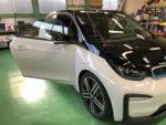 BMW I01 i3 シルフィード断熱フィルム施工作業❗️BMWI01i3SUITEレンジエクステンダーEV車
