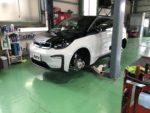 BMW I01 i3 EV車 G'ZOXホイールコーティング施工作業❗️BMWI01i3SUITEレンジエクステンダーEV車