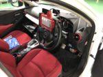 DJ5FSDEMIO法定12ヶ月点検整備 インジェクターの噴射量補正作業Snap-onMTG5000