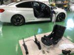 BMWF82M4 6MT RECARO RMS シート取付作業❗️羽村市RMC F82M4 6MT
