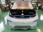 BMW I01 i3 Hi-MOHS COAT THE GLOW ハイエンド超膜厚超撥水ガラスコーティング施工❗️羽村市RMC BMW I01 i3 SUITE レンジエクステンダー