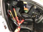 BMW F82M4 6MT サベルトシートベルト取付❗️羽村市RMC F82M4 6MT RECARO RMS Sabelt