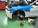 BMW F82M4 6MT 車高調取付 ビルシュタイン クラブスポーツ2WAY車高調取付作業❗️BILSTEIN CS 2WAY車高調
