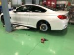 BMW F82M4 6MT 437M 10.0J-19+40 ホイール交換❗️羽村市RMCデモカー BMW F82M4 6MT