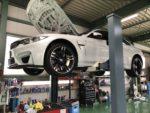 BMW F82M4 6MT のゲトラグ6速用ミッションオイルに悩み中❗️デモカー BMW F82M4 6MTす