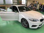 BMWF22M235iクーペ シルフィード断熱フィルム施工❗️長野県Y様 BMWF22M235iクーペ
