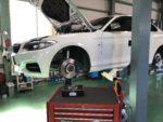 BMWF22M235iクーペ IDIブレーキパッド交換❗️長野県Y様 BMWF22M235iクーペ