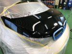 BMWI01i3 Hi-MOHS COAT THE NEO 超撥水ハイエンドガラスコーティング施工❗️デモカー BMWI01i3SUITEレンジエクステンダー