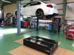 BMWF87M2クーペ AKRAPOVIC EVOLUTIONLINE チタンマフラー取付❗️ BMWF87M2アクラポビッチエボリューションラインマフラー