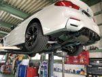 BMWF82M4 6MT デフオイル交換 OMEGA 690 75W140 ¥8,500-/1L❗️デモカー BMW F82 M4 6MT