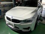 BMW F82M4 6MT FSWに向けてアライメントセッティング変更❗️デモカー BMW F82M4 6MT