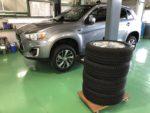 GA4W RVR スタッドレスタイヤ履き替え BLIZZAK VRX 215/60R17❗️練馬区N様GA4W RVR