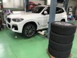 BMWG01X3Xdrive 20dM sport スタッドレスタイヤ履き替え❗️デモカー BMWG01X3Xdrive20dM sport