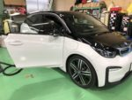 BMW I01 i3 SUITE REX Mperformanceparts ステンレスペダル取付❗️デモカー BMW I01 i3 SUITE REX