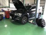BMWF48X1Xdrive18dXLine スタッドレスタイヤ履き替え❗️青梅市Y様 BMWF48X1Xdrive18dXLine