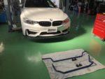 BMWF82M4 H&Rスタビライザー取付❗️デモカー BMWF82M4 6MT