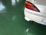 S15SILVIA車検整備排気ガステスター❗️あきる野市A様S15SILVIA