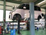 MK32Sスペーシア車検整備❗️青梅市W様MK32Sスペーシア車検