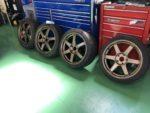 BMWF22M235クーペRAYS TE37SAGA18インチG'ZOXホイールコーティング施工❗️長野県Y様 BMWF22M235クーペ