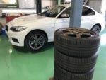 BMWF22M235クーペRAYS TE37SAGA18インチ←スタッドレスタイヤ履き替え❗️長野県Y様 BMWF22M235クーペ